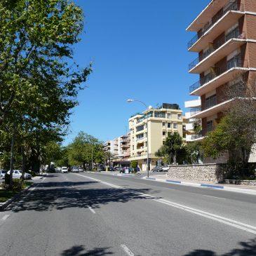Corte de tráfico el 20 de noviembre en la vía de servicio sur a la altura de Urgencias del Hospital Quirón por obras de seguridad vial