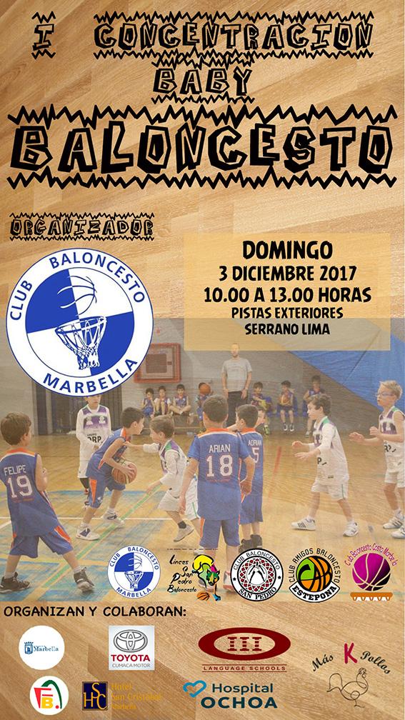 La fiesta del baloncesto Baby llega este domingo al Serrano Lima