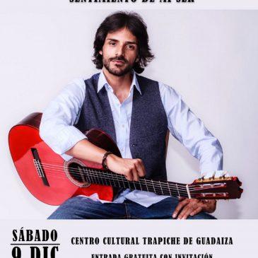 Juan Habichuela Nieto presenta su disco 'Sentimiento de mi ser' el 9 de diciembre en San Pedro Alcántara