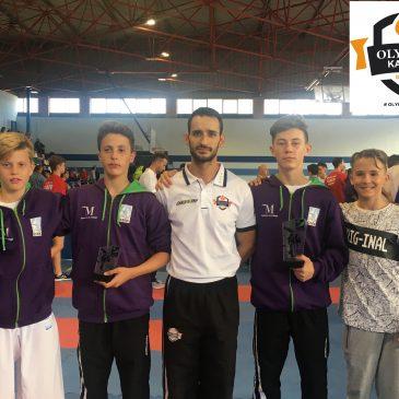 Olympic Karate Marbella se hace  con el Oro y el Bronce Andaluz