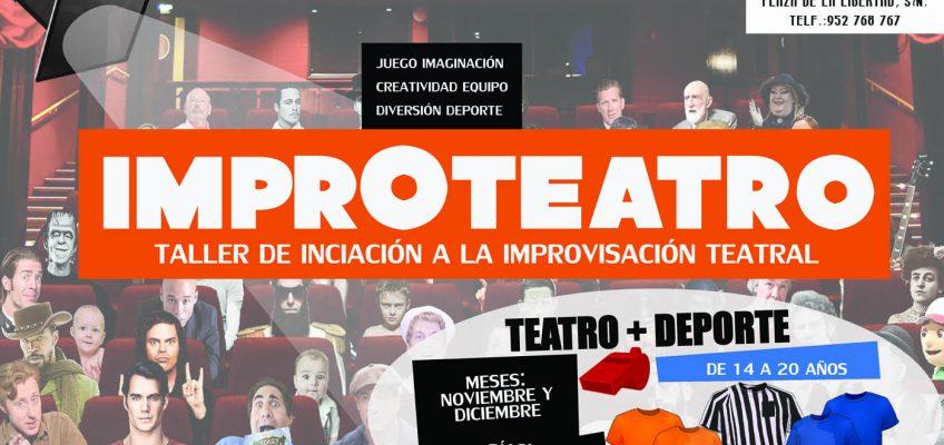 Juventud pone en marcha un Taller de Iniciación a la Improvisación Teatral que se celebrará los martes y los jueves hasta el 21 de diciembre