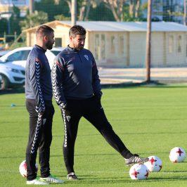 """Estévez: """"Afrontamos el partido de Huelva con optimismo"""""""