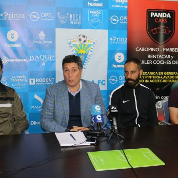 El Marbella FC se hace fuerte y demuestra unión total dos meses después de la detención de su presidente