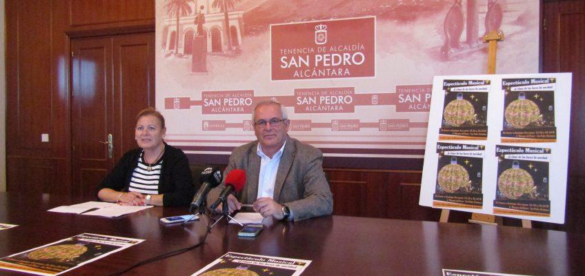 San Pedro Alcántara dará la bienvenida a la Navidad con una gran bola transitable en Marqués del Duero y un espectáculo de luz y música