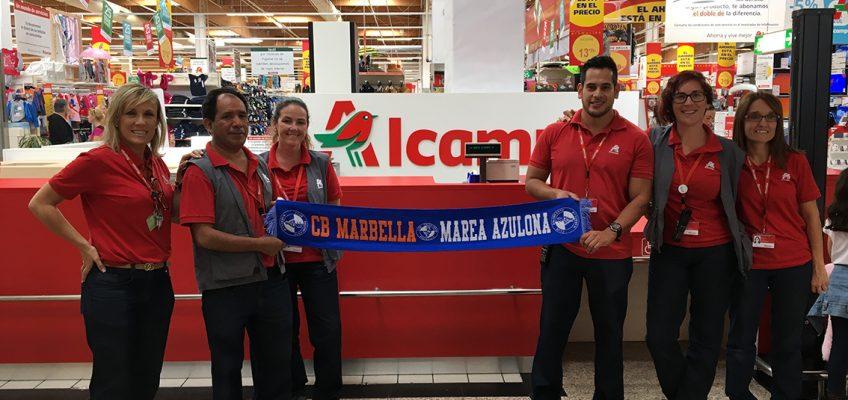 """Hipermercados Alcampo y CB Marbella se unen a """"La vida azul"""""""