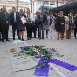 EL PSOE DE MARBELLA Y SAN PEDRO ALCÁNTARA RECUERDA A LAS VÍCTIMAS DE VIOLENCIA MACHISTA