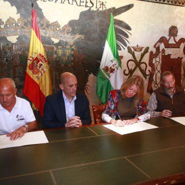 El Ayuntamiento firma un convenio con Afasa 7 para la celebración de las 24 Horas Deportivas de San Pedro Alcántara
