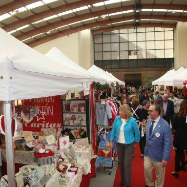 El Palacio de Congresos acoge hasta el domingo el Bazar Navideño de Cáritas