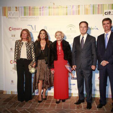 """Premios de la Asociación de Empresarios y Profesionales CIT Marbella """""""
