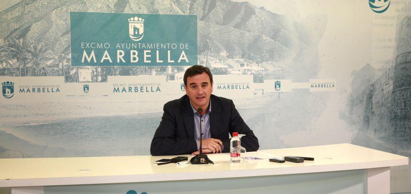 El equipo de Gobierno insta al PSOE a reclamar a la Junta los 1,5 millones que adeuda a Marbella en concepto de IBI