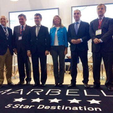 Marbella desembarca con stand propio en la WTM de Londres y presenta su candidatura a albergar la Copa Davis dentro de una intensa programación