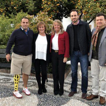 El Ayuntamiento y la Federación Internacional de Tenis trabajan sobre el terreno en los preparativos de la eliminatoria de la Copa Davis, que se celebrará en febrero en Marbella