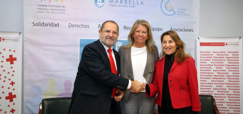 El Ayuntamiento firma el convenio con Cruz Roja para la entrada en funcionamiento del Centro de Atención Inmediata a personas sin hogar