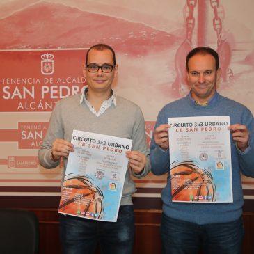 El Circuito 3×3 Urbano CB San Pedro arrancará este sábado con la primera etapa que se celebrará en el Bulevar