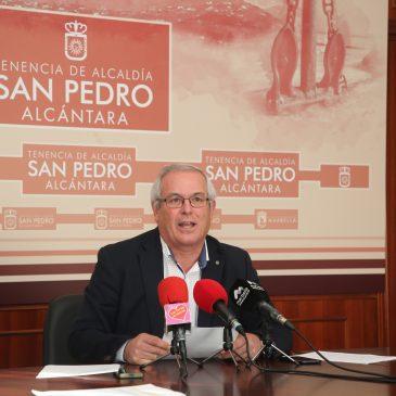 La Tenencia de Alcaldía de San Pedro Alcántara ha invertido 1,3 millones en obras en el último trimestre