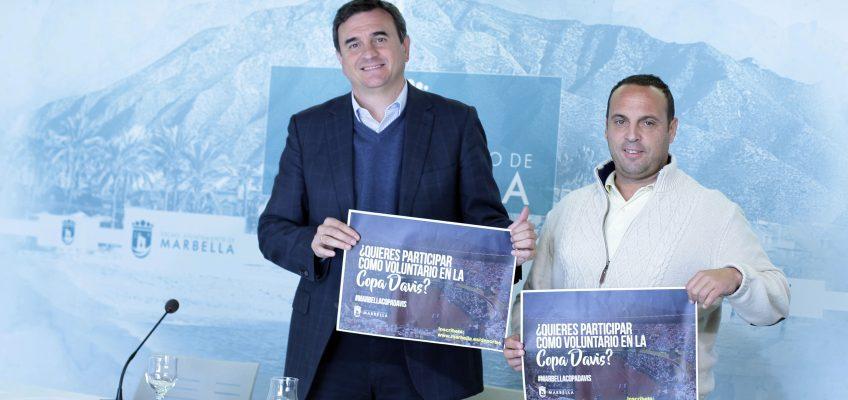 El Ayuntamiento pone en marcha la campaña de captación de voluntarios para la Copa Davis