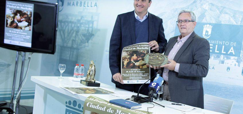 El doctor Andrés Manuel Sánchez Cantos recibirá el galardón 'Sol de Marbella' en el VI Pregón y Gala de Navidad 'Ciudad de Marbella'