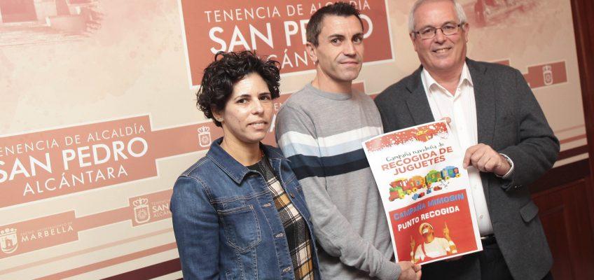La Tenencia de San Pedro respalda la campaña de recogida de juguetes de 'Mimosín' que se entregarán el 23 de diciembre