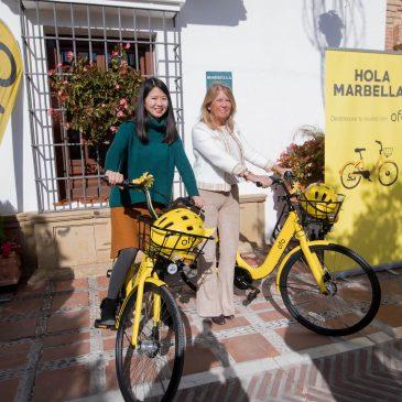 Marbella ofertará hasta 500 bicicletas compartidas sin estacionamiento fijo de la plataforma líder mundial OFO