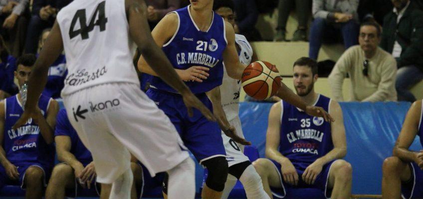Ricardo Guillén guía al CB Marbella a su sexta victoria ante MedacBasket