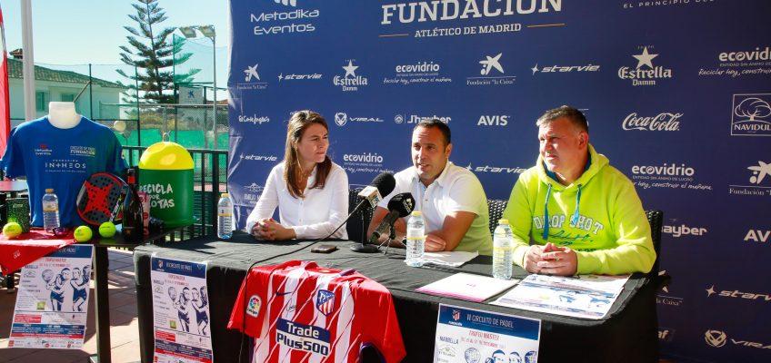El Trofeo Master del II Circuito Nacional de Pádel Fundación Atlético de Madrid tendrá lugar del 15 al 17 de diciembre en el Club El Mirador