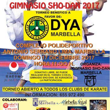 El Club Sho-Dan organiza el próximo domingo el V Torneo Benéfico Anual de Katas 2017 en el Complejo Deportivo Antonio Serrano Lima