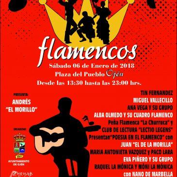 """Ojén culmina las fiestas navideñas con su tradicional festejo de los """"Reyes Flamencos"""" el 6 de enero"""