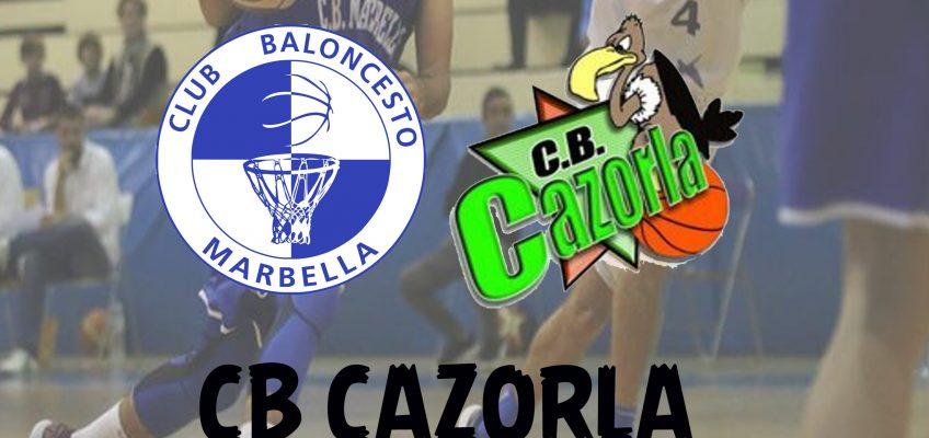 Vuelta al trabajo del CB Marbella pensando en el líder Cazorla