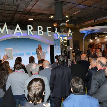 """La alcaldesa subraya en la inauguración del stand de Marbella en FITUR que la ciudad se promocionará en la feria turística como """"un destino para visitar, vivir e invertir"""""""