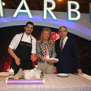 El stand de Marbella ha acogido hoy un Live Cooking
