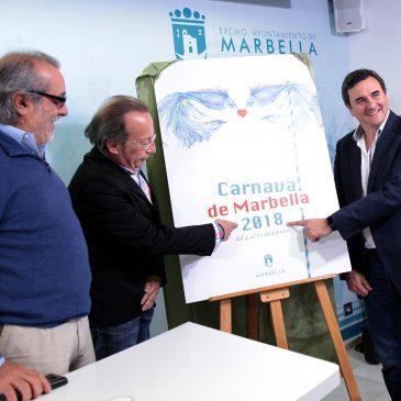 El pintor y dibujante Agustín Casado será este año el pregonero del Carnaval de Marbella