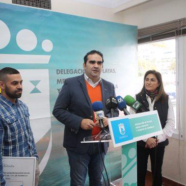 """El Ayuntamiento presenta un novedoso Plan de Playas para 2018 con el objetivo de que """"los servicios del litoral estén al cien por ciento todo el ejercicio"""""""