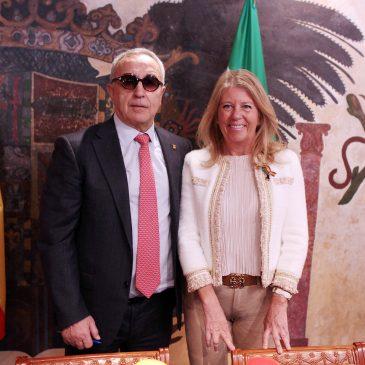 """La alcaldesa destaca que la celebración de la Asamblea General de los Comités Olímpicos Europeos """"refuerza la apuesta de Marbella por las grandes citas en el ámbito deportivo"""""""