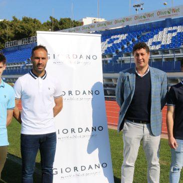 El Marbella FC cierra un nuevo acuerdo de patrocinio con la firma Giordano Marbella,