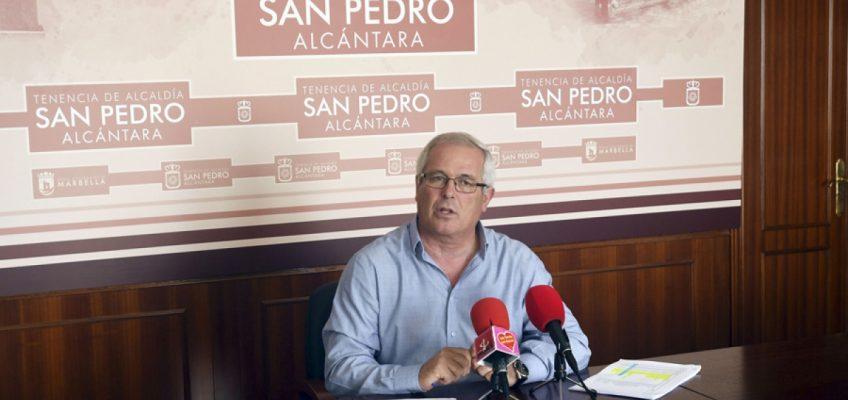 """La Tenencia de San Pedro Alcántara traslada a los comerciantes que Marqués del Duero """"se podría abrir al tráfico una vez que la obra esté recepcionada"""""""