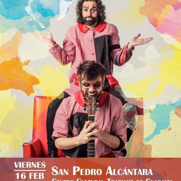 El Trapiche de Guadaiza de San Pedro Alcántara acogerá el próximo viernes el concierto de Antílopez dentro de su exitosa gira 'Desprendimiento de rutina'