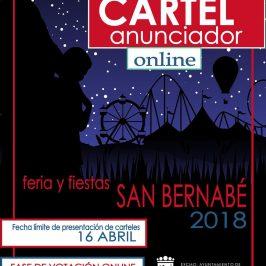 Publicadas las bases para la Elección de Reinas y Damas de la Feria y Fiestas de San Bernabé 2018 y del Concurso del Cartel Anunciador