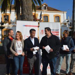 """EL PSOE INICIA LA CAMPAÑA """"MIRANDO POR SAN PEDRO"""" PARA RECOGER DEMANDAS VECINALES Y ATENDER SUS PROPUESTAS"""