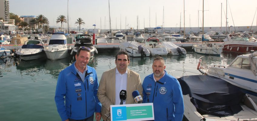 El Ayuntamiento cede al Club de Pesca Kayak Marbella un espacio en el Puerto Deportivo para su sede
