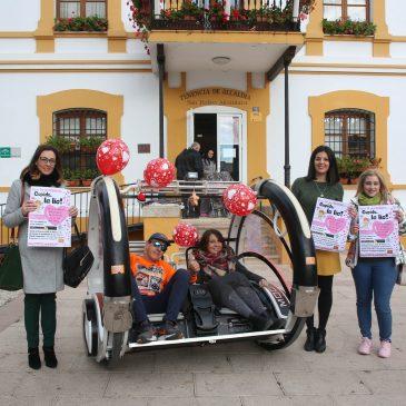 La Tenencia de San Pedro Alcántara apoya un año más la campaña de San Valentín 'Cupido la lía' para dinamizar el comercio local