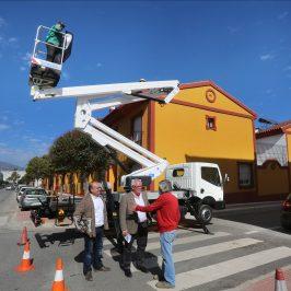 La Tenencia de Alcaldía de San Pedro Alcántara refuerza su área de mantenimiento y limpieza con la adquisición de cinco nuevos vehículos