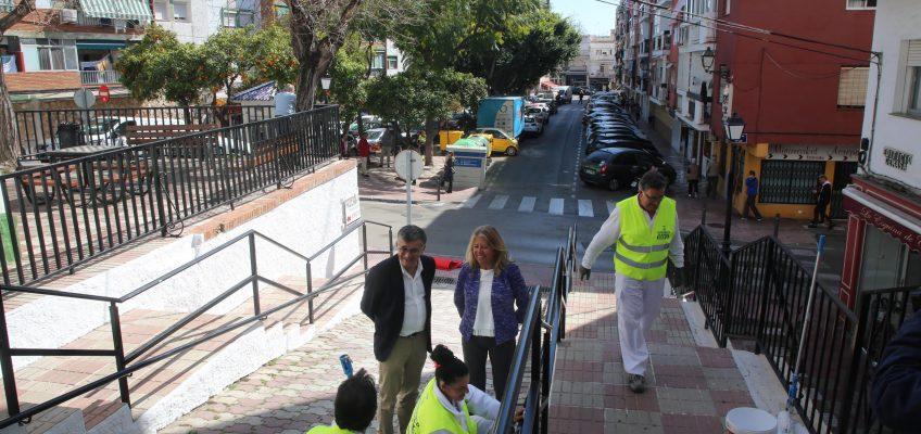 El Ayuntamiento acomete actuaciones de conservación y mejora en 90 puntos del barrio de Divina Pastora