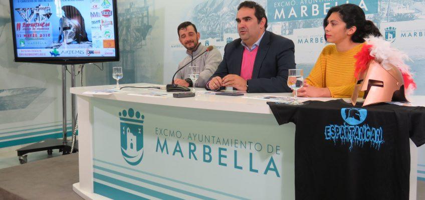 La playa de El Cable será el escenario el 11 de marzo de la segunda edición del Espartancan Ciudad de Marbella