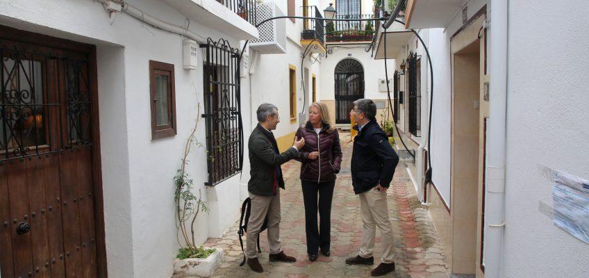 El Ayuntamiento finalizará en mayo la remodelación y mejora de infraestructuras en la calle Montenebro