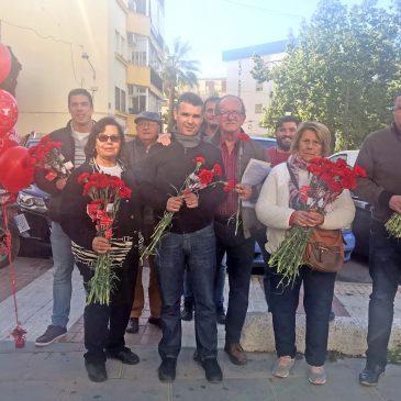 La Tenencia de Alcaldía de San Pedro Alcántara traslada 'El regreso del olivar' de Vicente de Espona a la rotonda central del bulevar