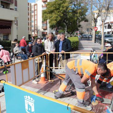 El Ayuntamiento acomete más de setenta actuaciones de conservación y mejora en el barrio de Miraflores