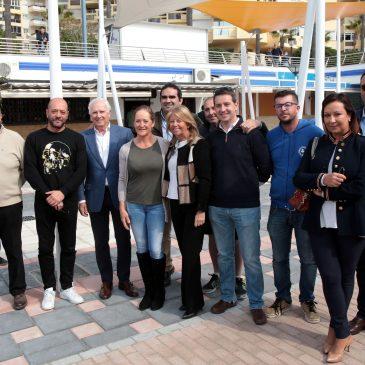 El Ayuntamiento da un paso más en la puesta en valor del Puerto Deportivo y su integración en la ciudad con la creación de una plaza