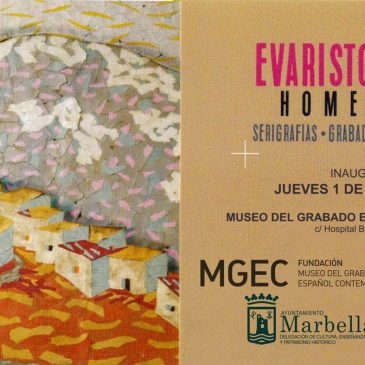 El Museo del Grabado inaugura este jueves una exposición que despliega la visión poética del paisaje de Evaristo Guerra