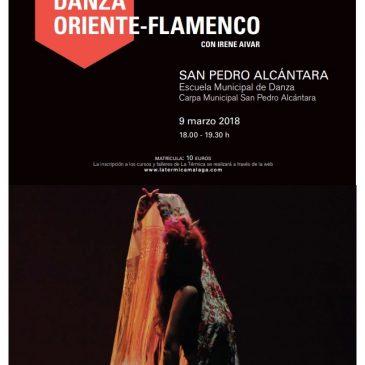 La Escuela Municipal de Danza de San Pedro Alcántara acogerá el taller 'Danza Oriente-Flamenco' programado por Cultura en colaboración con La Térmica