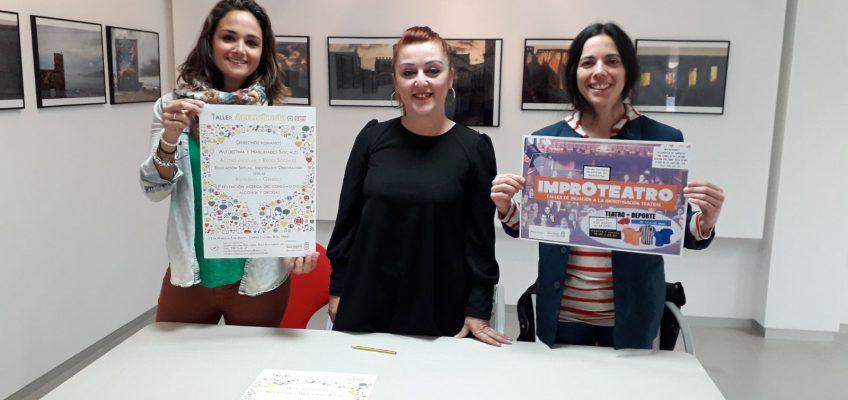 La Tenencia de Alcaldía de San Pedro Alcántara ofrece los talleres para jóvenes 'Improteatro' y 'Aprendiendo a ser'